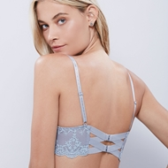 Picture of Satin and Lace Shelf Bra - Grouped