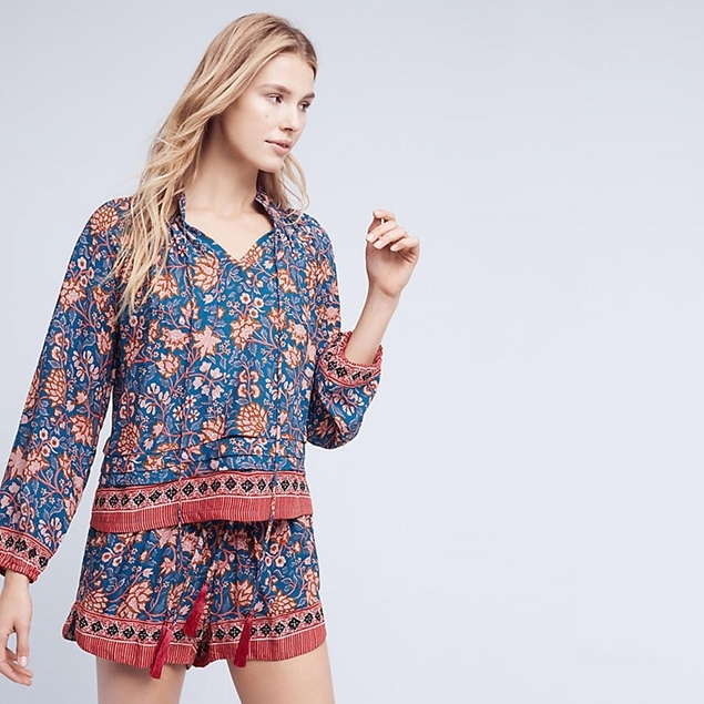 Picture of Floral PJ Shorts